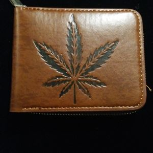 Wallet Guadalupe design with zipper